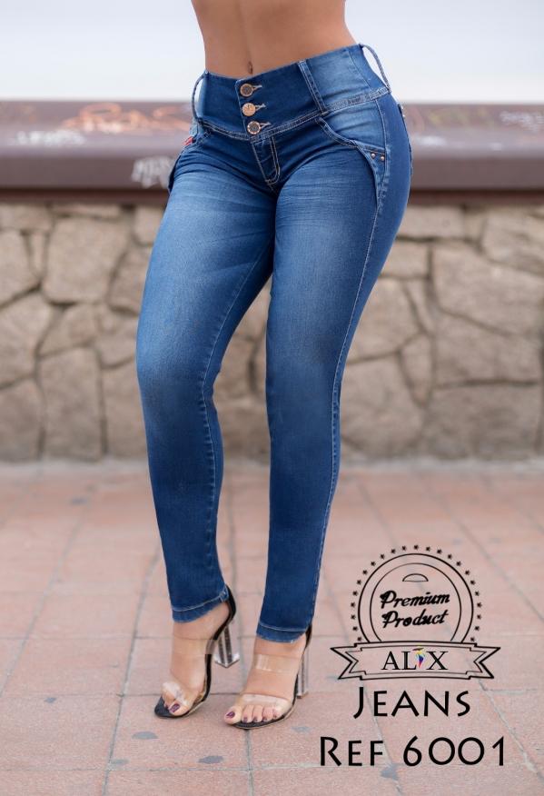 Jeans Levanta Cola Azul Colombiano Colombiamoda Es
