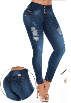 Jeans Levantacola Colombiano